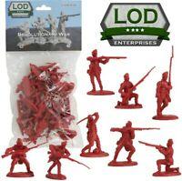 1:32 American Revolutionary War British Light Infantry Plastic Toy Soldier 16