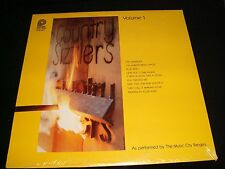 MUSIC CITY RANGERS VOL.1<>COUNTRY SIZZLERS<>*SEALED* Lp VINYL~USA Press~SPC-3686