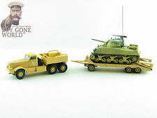 Corgi cc55108 1/50 DIAMOND T M20 con / M4 Sherman Tanque SIDI BOU zid
