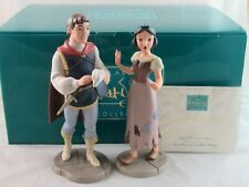 """WDCC """"I'm Wishing for the One I Love"""" Snow White and Prince in Box with COA"""