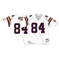 Minnesota Vikings Randy Moss Throwback Replica Jersey White Large 4bbb80916