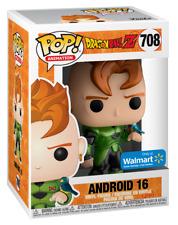 1x Funko Pop! Dragon Ball Z Android 16 Metallic Walmart Exclusive Box Not Mint