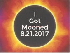 NEW USPS Postal Solar Eclipse Stamp WY Hand Cancel MOONED Postcard 2017 Fast SH