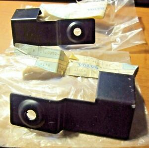 VOLVO  740 760 LEFT AND RIGHT FRONT LICENSE PLATE MOUNTING BRACKETS  NEW