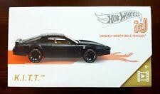 Hot Wheels ID K.I.T.T. Knight Rider . selten .