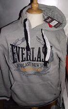 "Homme EVERLAST New York gris chiné à capuche Pull Sweater Medium Tour De Poitrine 42"" BNWT"