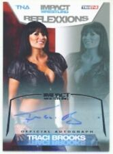 "TRACI BROOKS ""AUTOGRAPH /99"" KNOCKOUT TNA REFLEXXIONS"