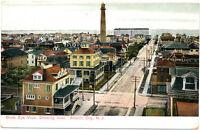 ATLANTIC CITY NJ – Birdseye View showing Inlet – udb (pre 1908)