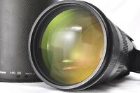 Nikon ED AF-S NIKKOR 300mm F2.8D II ll 2 IF Telephoto Lens w/Hood From Japan