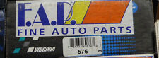 BRAND NEW FDP 576 REAR BRAKE SHOE SET FITS VEHICLES ON CHART