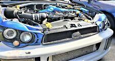 RPG WRC Forged Carbon Bumper Grill for 02 03  Subaru Impreza Bugeye WRX STi GDA