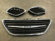 03 04 05 06 07 SAAB 9-3 93 FRONT BUMPER HOOD GRILL GRILLE LEFT RIGHT CENTER