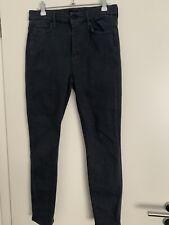 Graue Jeans von Mother, Größe 28, Modell High Waisted Looker Ankle