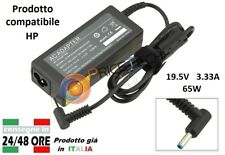 Alimentatore compatibile alta qualità per notebook HP 19.5V 3.33A 65W 710412-001