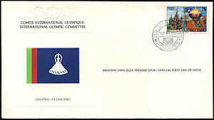 Lesotho 1980 Olympic Games Committee FDC First Day Cover #C25460