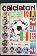 ALBUM CALCIATORI PANINI 1971-72 COMPLETO