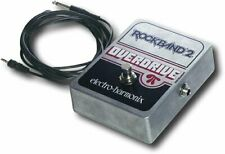 "BRAND NEW Rock Band Guitar OVERDRIVE PEDAL electro-harmonix *1/4"" to 1/8"" Cable"