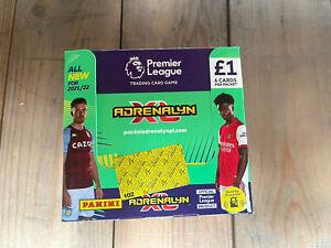 Panini Adrenalyn XL Premier League 2021/22 70 Packets Full Box
