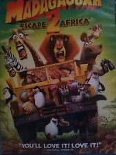 Madagascar 2 Escape From Africa like new DVD and free shipping