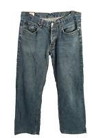 Vintage Lee Cooper Mid Waist Unisex Denim Jeans Size W34 L32 Blue - J4485