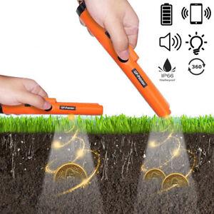 Schatzsuche Pro-Pinpointer Metall Detektor Metallsuchgerät mit LED Taschenlampe