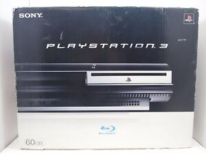 Sony PlayStation PS3 Fat 60GB CECHA01 Authentic Console BOX ONLY