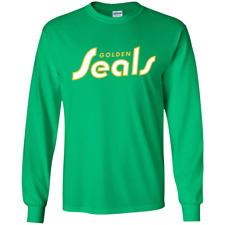 California Golden Seals Hockey - G240 Gildan LS Ultra Cotton T-Shirt