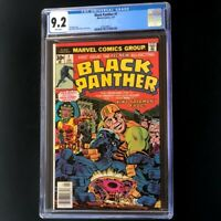 Black Panther #1 (Marvel 1977) 💥 CGC 9.2 WHITE Pages 💥 Jack Kirby KEY Comic