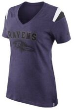 Nike Women's Baltimore Ravens Fan V Neck NFL Football Jersey Shirt Medium M