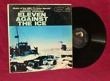TV OST LP ELEVEN AGAINST THE ICE KENYON HOPKINS 1958 RCA VICTOR VG++ /  NM