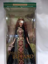Dolls of the World Princess of Ireland Barbie Doll Collection NEW SEALED