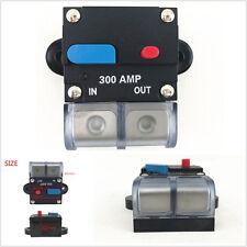 12V System PREMIUM 0 2 4 Gauge 300 AMP Car Audio Inline Power Circuit Breaker