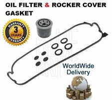 FOR HONDA ODYSSEY IMPORT 2.2i 1994-1997 NEW ROCKER COVER GASKET & OIL FILTER KIT