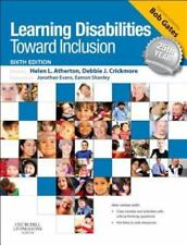 Learning Disabilities : Toward Inclusion (2012, Paperback)