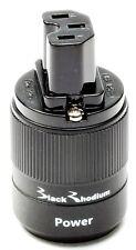 Black Rhodium C13 IEC Connector Power Rhodium Plated HI-FI mains cable upgrade