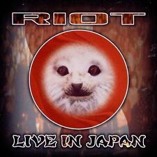 RIOT - Live In Japan [Live](CD 1999) *NEW* Metal Blade Power/Speed Metal