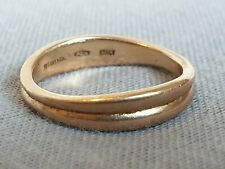 TIFFANY AND CO 18ct GOLD WEDDING BAND NOT  SCRAP 3.2g
