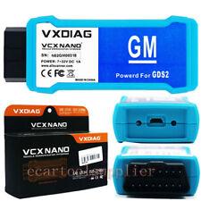 Vxdiag VCX Nano para GM/Opel GDS2 Escáner de Diagnóstico Wifi de codificación de ecus reprogrammer