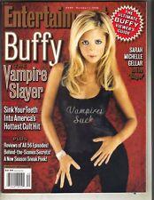 Sarah Michelle Gellar Buffy Entertainment Weekly Magazine 10/1/99 Vampires Suck