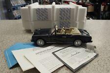 Franklin Mint The Rolls-Royce Corniche IV Anniversary Edition 1992 1:24 Scale