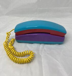 Vintage Alaron Kool Shades Colorful Telephone Desk Home Phone