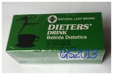 6 X Natural Leaf Brand Dieters' Drink Bebida Dietetica Weight Loss Dieters' Tea