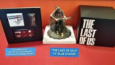 """The Last of Us Part II 2 CE 12"""" Ellie Statue/Bracelet/Pin Set/Stickers - ONLY"""
