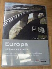 CARTE D ACTIVATION GPS + CARTE EUROPA MMI (RMC) 2015 AUDI A1 SD CARTE NEUVE