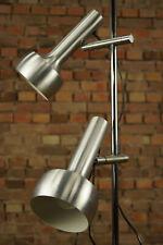 Vintage XXL Stehlampe Leselampe Spot Leuchte Lampe 2flg Strahler 70er Chrom