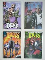 Dicks 1 2 3 4 Complete Caliber 1997 Garth Ennis Set Series Run Lot 1-4 VF/NM