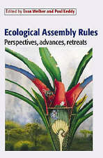 Ecological Assembly Rules: Perspectives, Advances, Retreats, , Good, Hardcover