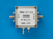 Frequency Divider 100MHz-14GHz Div 8 to 511, FBS-N-14, SMA
