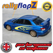 rallyflapZ SUBARU IMPREZA Age Bugeye (01-07) Schmutzfänger Blau STi Pink 4mm PVC