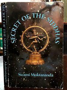 SECRET OF THE SIDDHAS - Swami Muktananda, 1st 1980 GURU YOGI YOGA KUNDALINI GOD